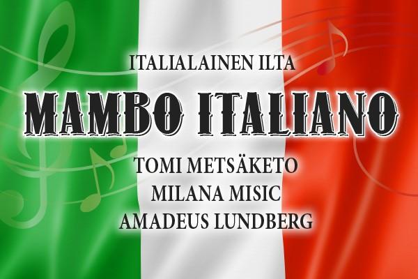 Mambo Italiano – italialainen ilta