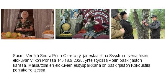 Kino Syyskuu – venäläisen elokuvan viikko
