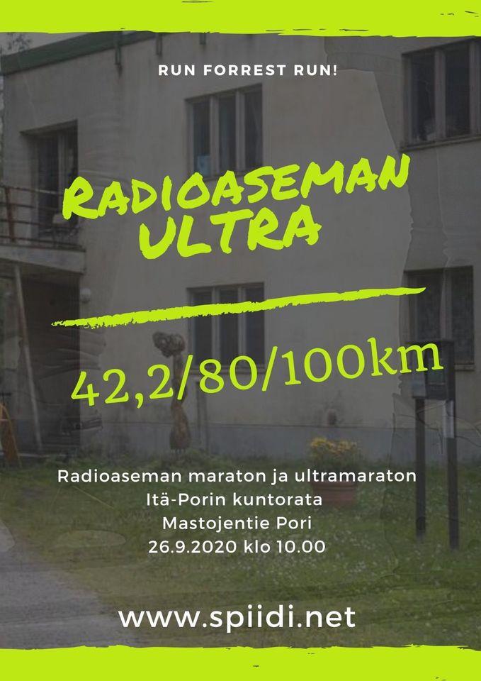 Radioaseman Ultra Maraton 2020-juoksutapahtuma