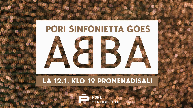 Pori Sinfonietta goes ABBA