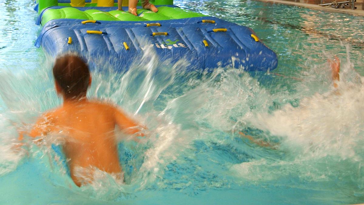 Wibit-temppurata Meri-Porin uimahallissa