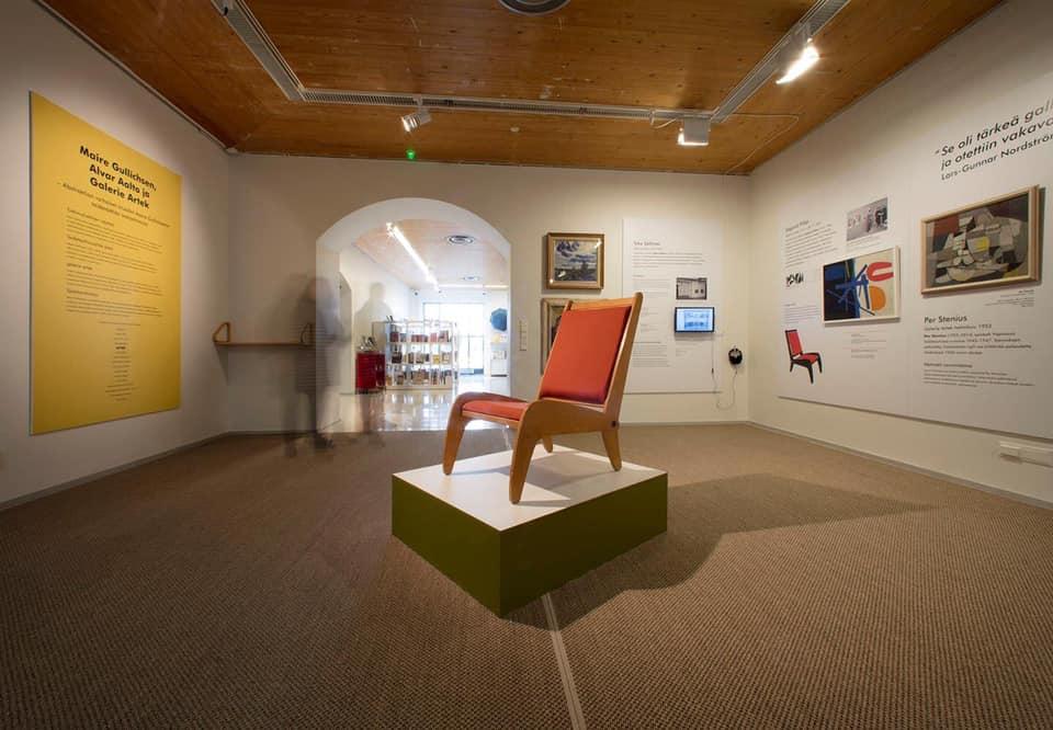 BONUSopastus: Maire Gullichsen taideostoksilla Galerie Artekissa 1950-luvulla