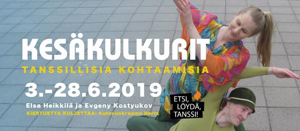 Tanssin kesäkulkurit Porissa