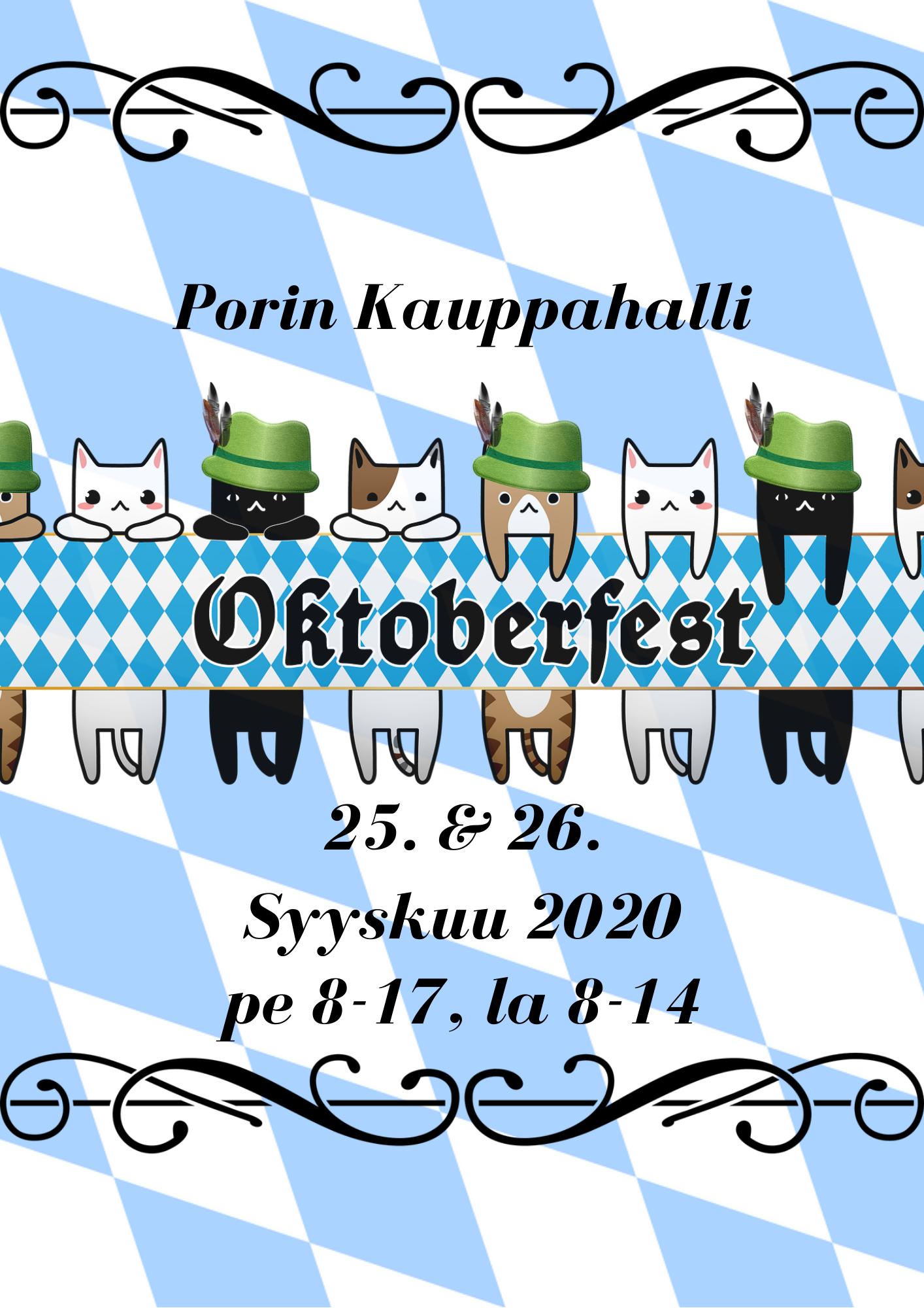 Oktoberfest Porin Kappahallissa