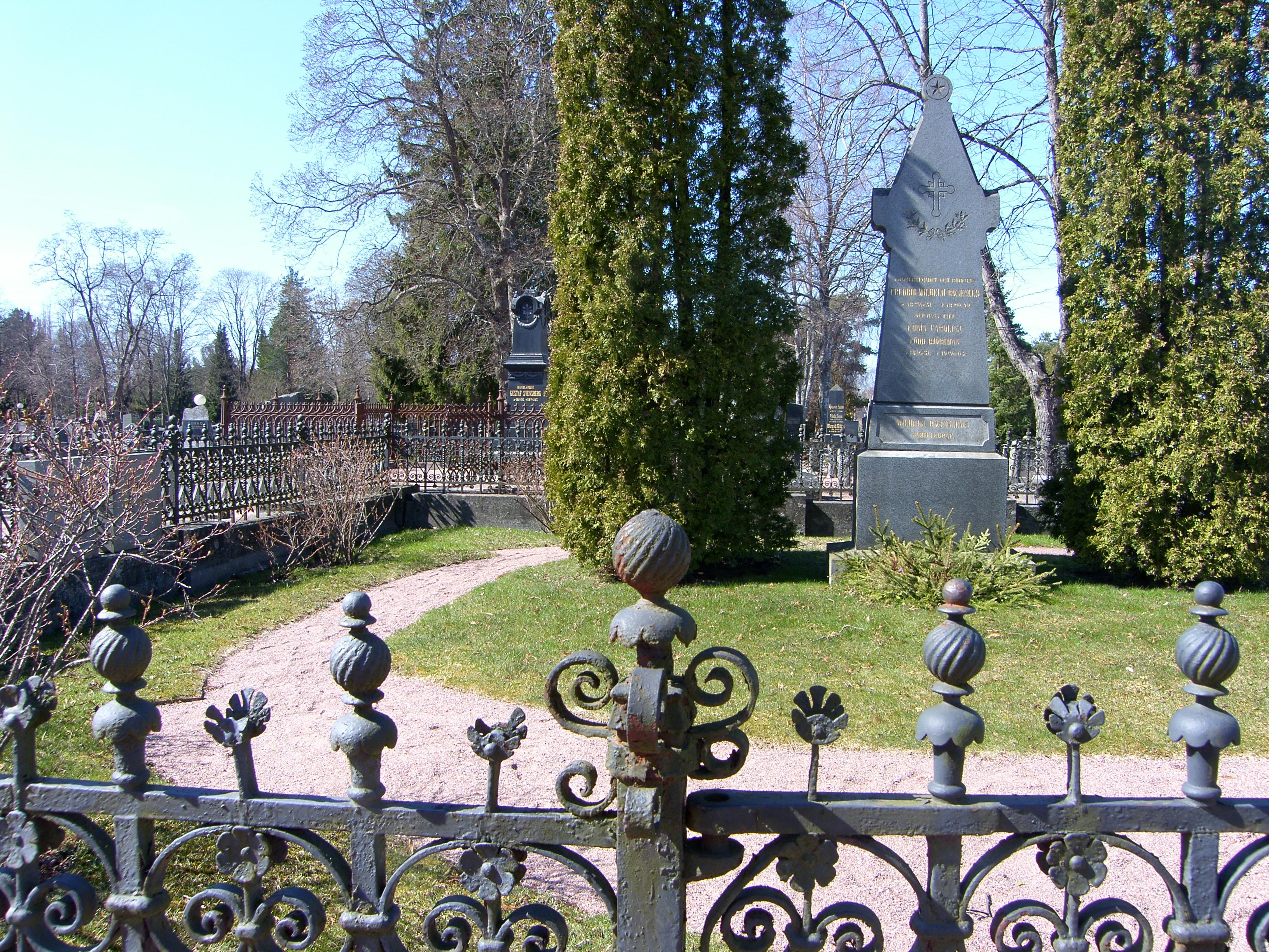 UUTUUS! Puistokävely Käppärän hautausmaalla