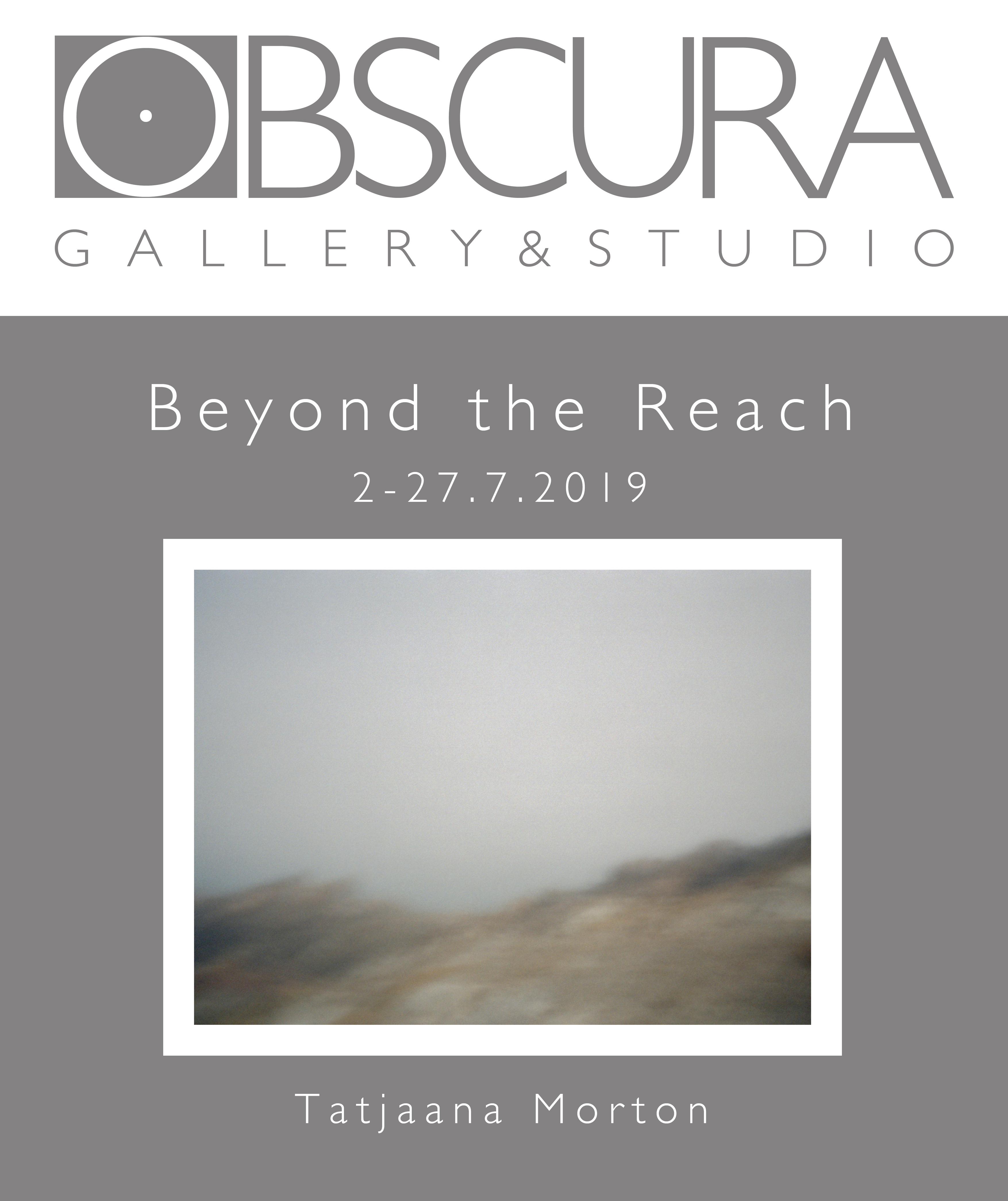 Valokuvataidenäyttely Beyond the Reach