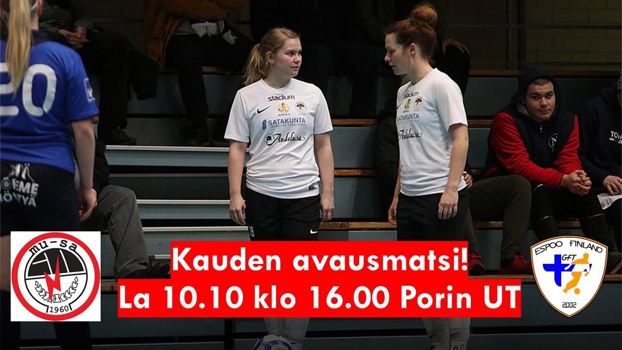 Naisten Futsal-liigaa MuSaFutsal – GFT