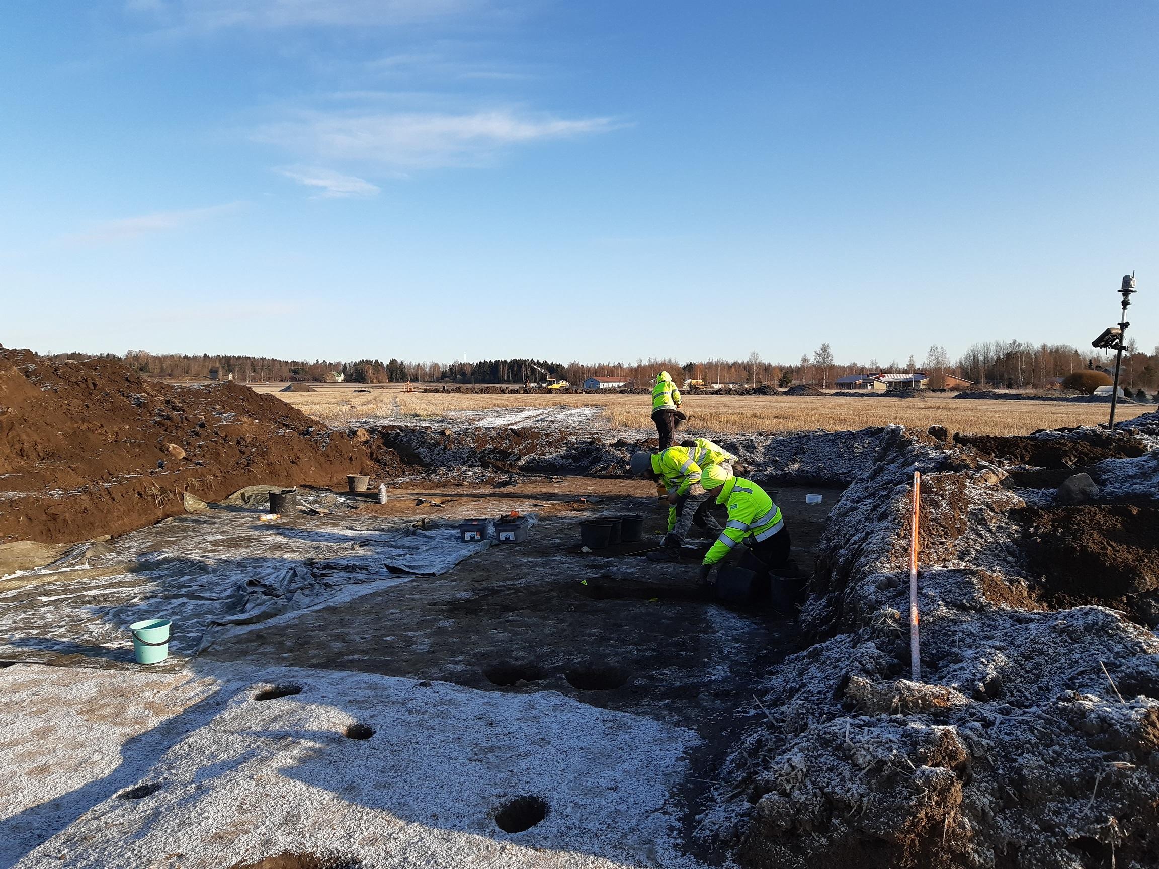 Kokemäen Villiönsuvannon rautakautisen asuinpaikan kaivaukset 2019-2020