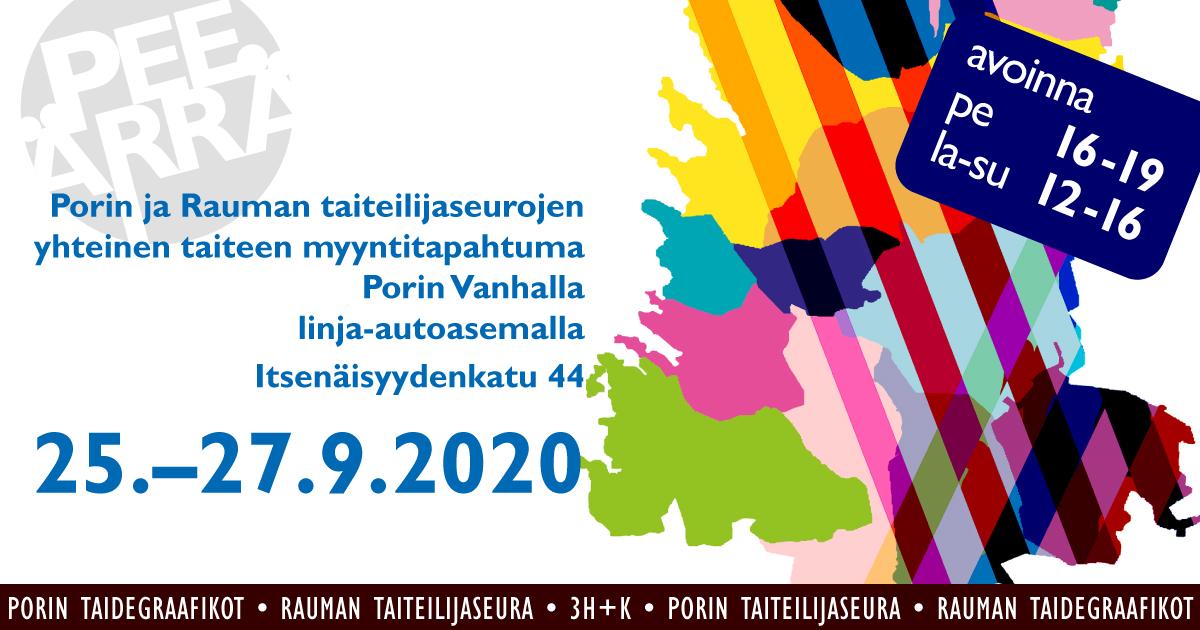PeeÄrrä – kuvataiteen näyttely- ja myyntitapahtuma Porissa