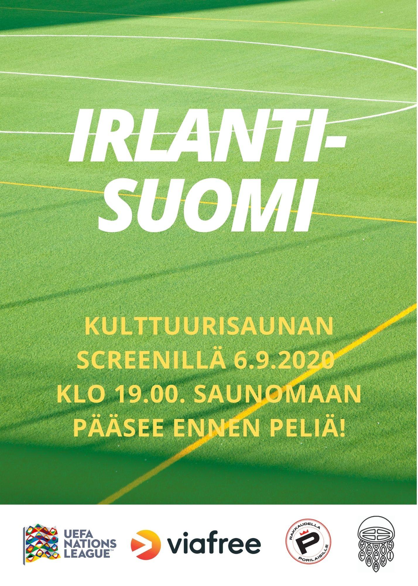 Irlanti-Suomi Kulttuurisaunalla