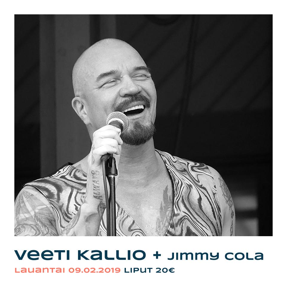 Veeti Kallio & Jimmy Cola Live