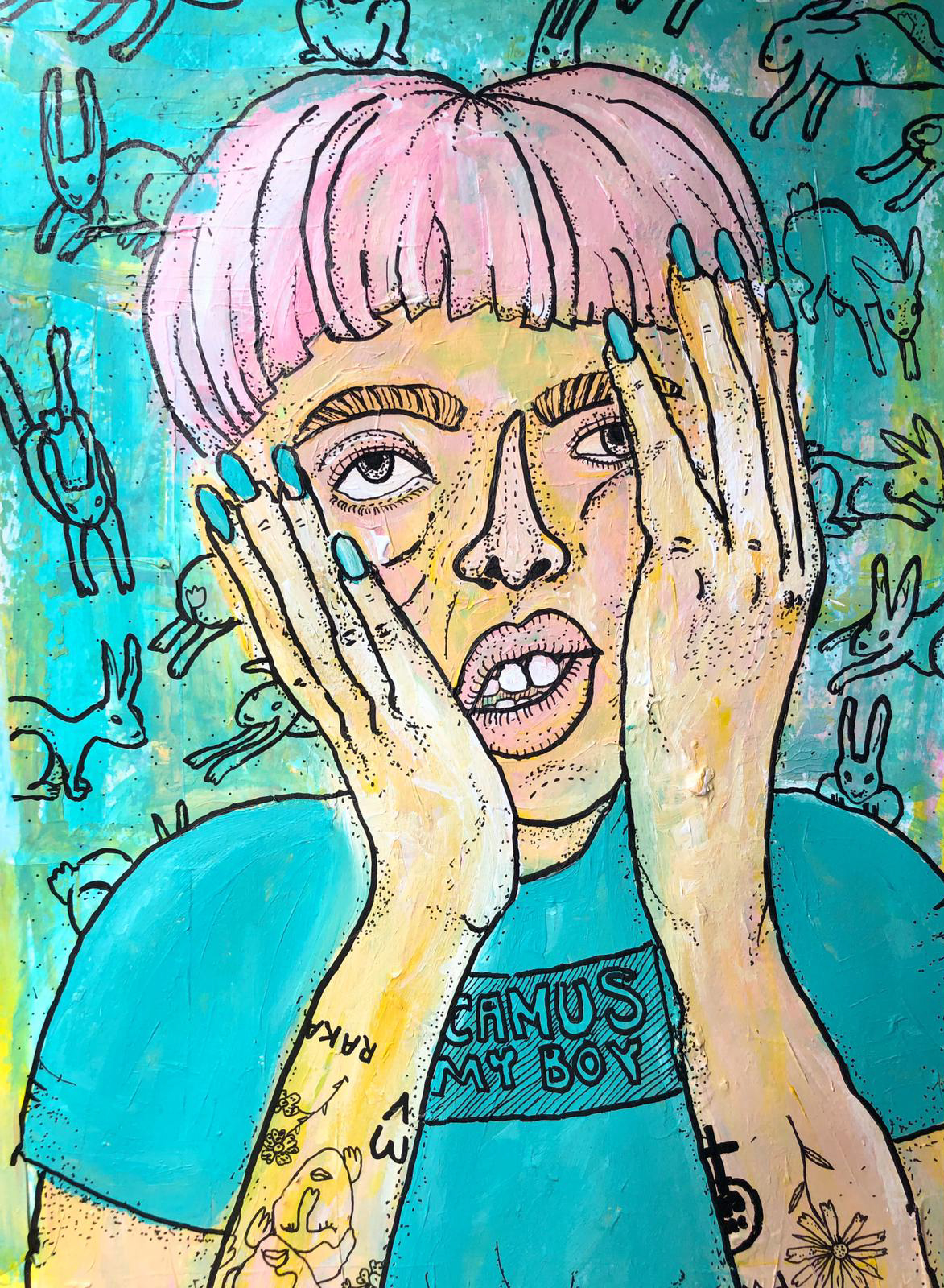 Kulttuuritalo Annis: Tympeät tytöt -taidenäyttely