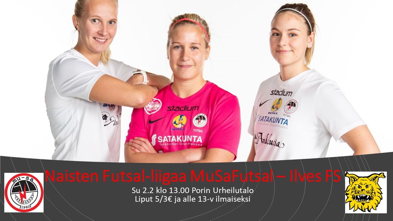 Naisten Futsal-liigaa MuSaFutsal – Ilves FS
