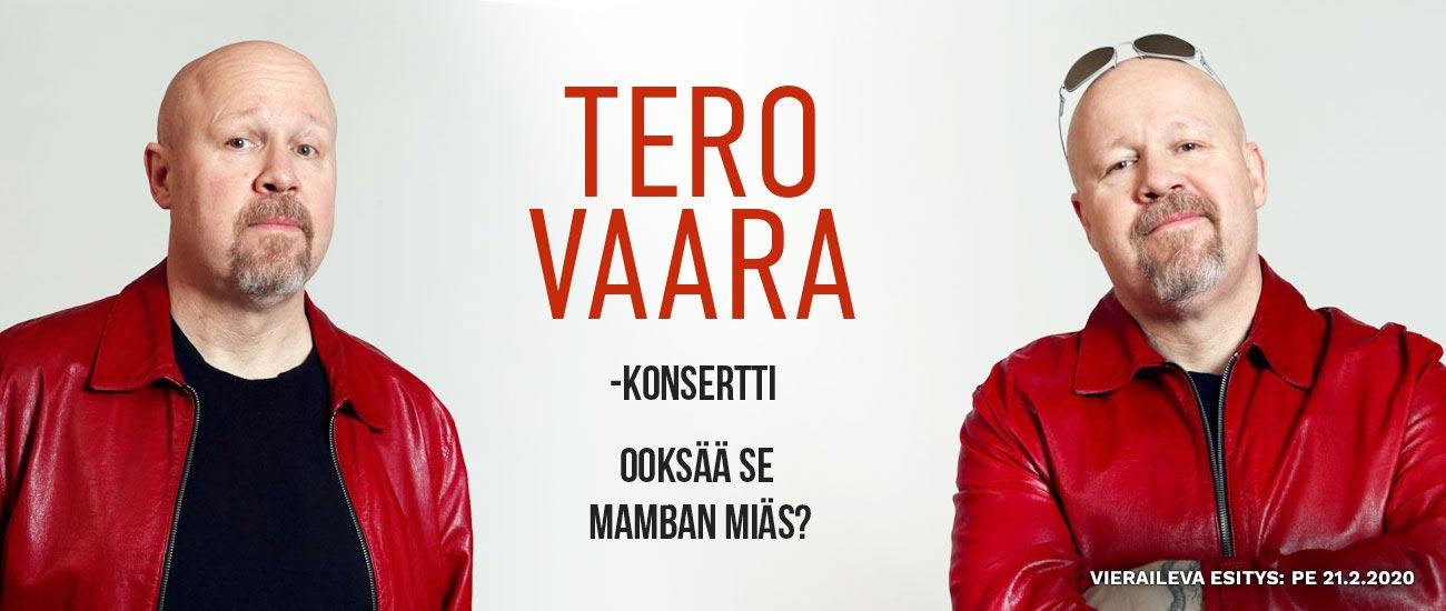 Tero Vaara -konsertti