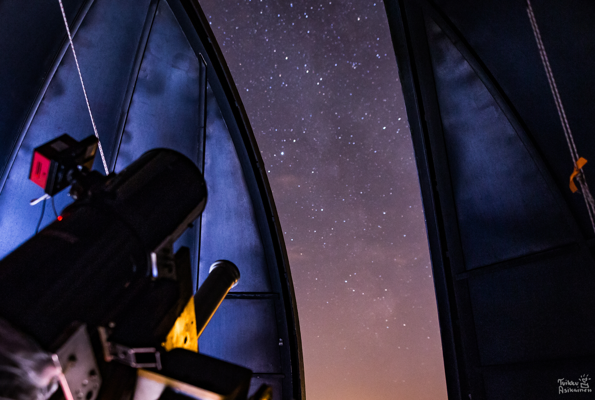 Tähtitiedettä kaikille! Porin karhunvartijat 45 v juhla.