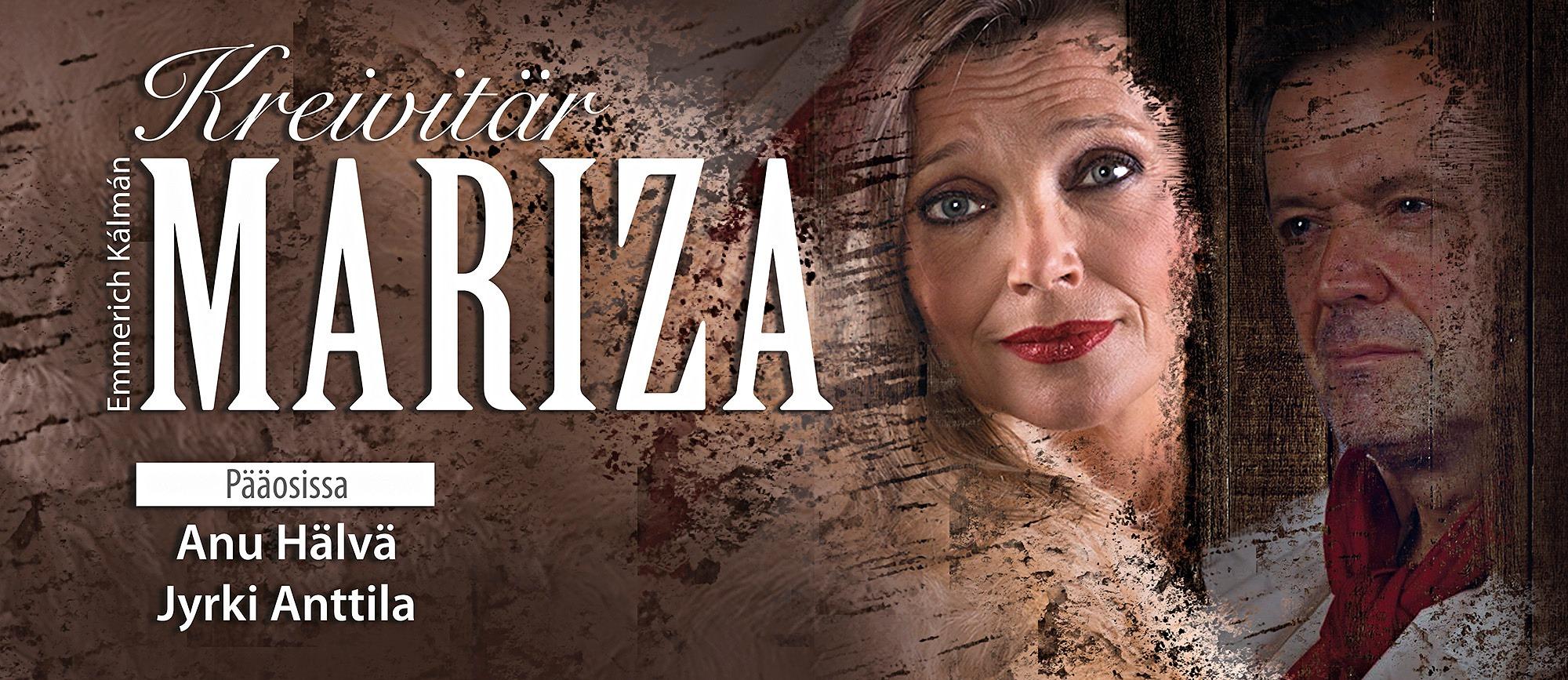 Kreivitär Mariza – operetti