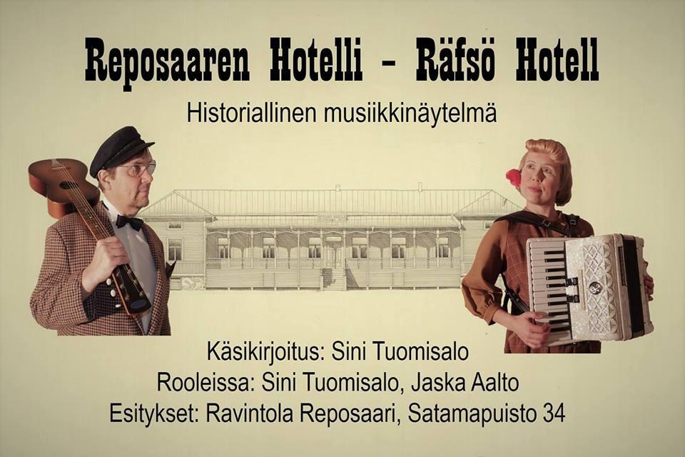 Reposaaren Hotelli – Historiallinen musiikkinäytelmä