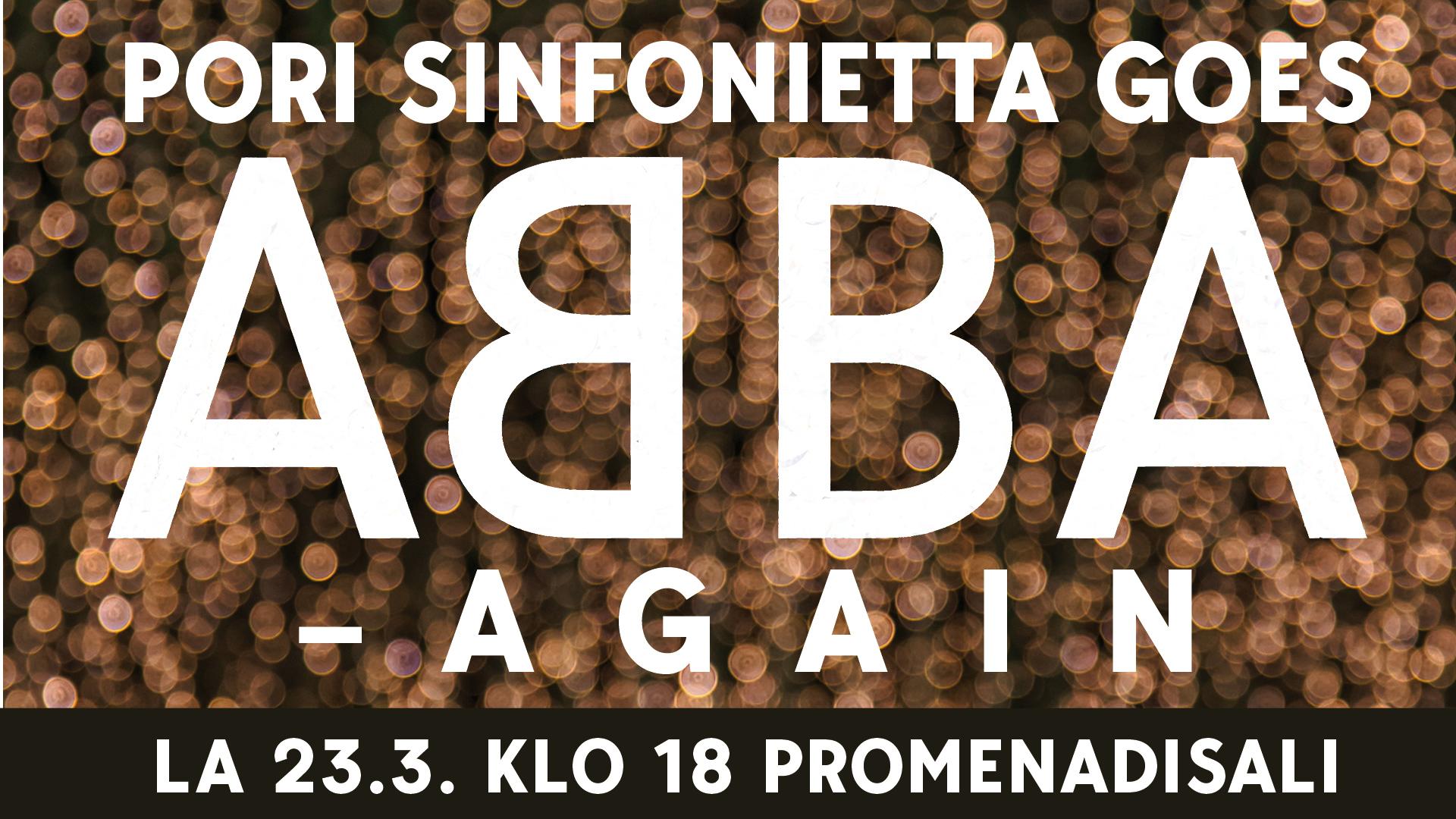 Pori Sinfonietta goes Abba – again