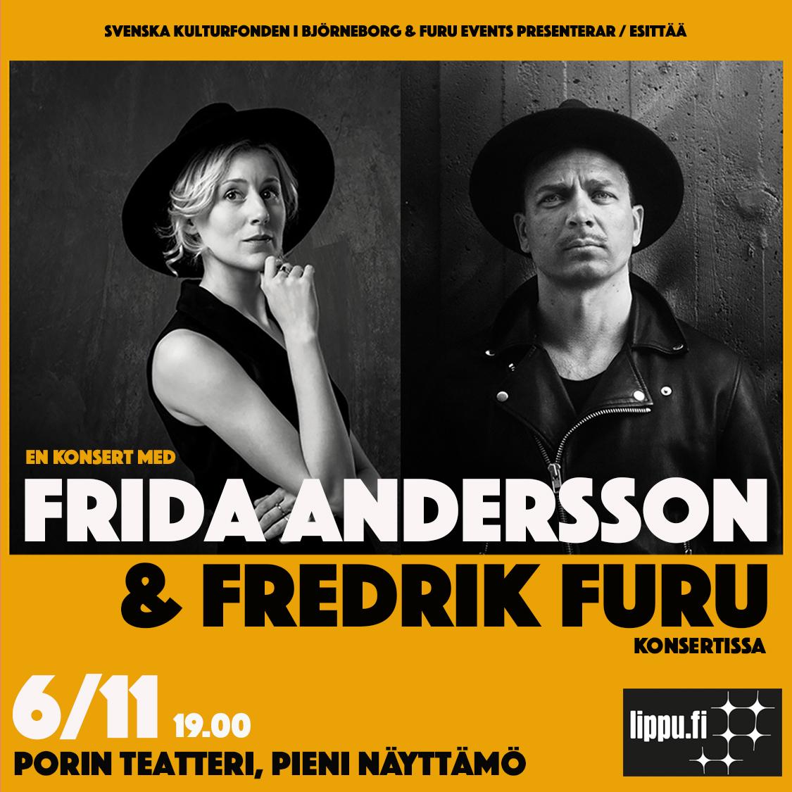 Frida Andersson & Fredrik Furu Konsertissa