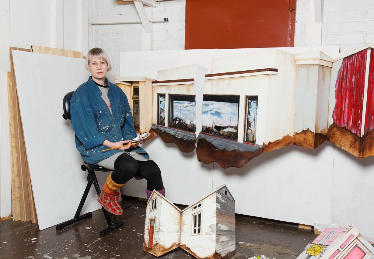 Jenni Yppärilä: Build Up | Porin taidemuseo